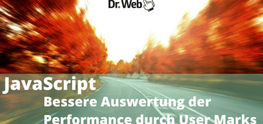 JavaScript: Bessere Auswertung der Performance durch User Marks