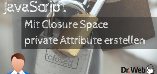 Mit Closure Space private Attribute erstellen