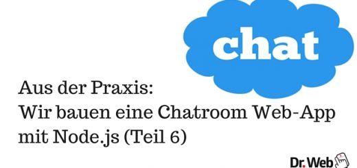 Chatroom mit Node.js - Teil 6