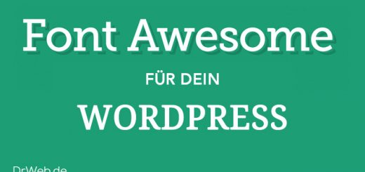 Der Dr. Web Font Awesome WordPress Guide